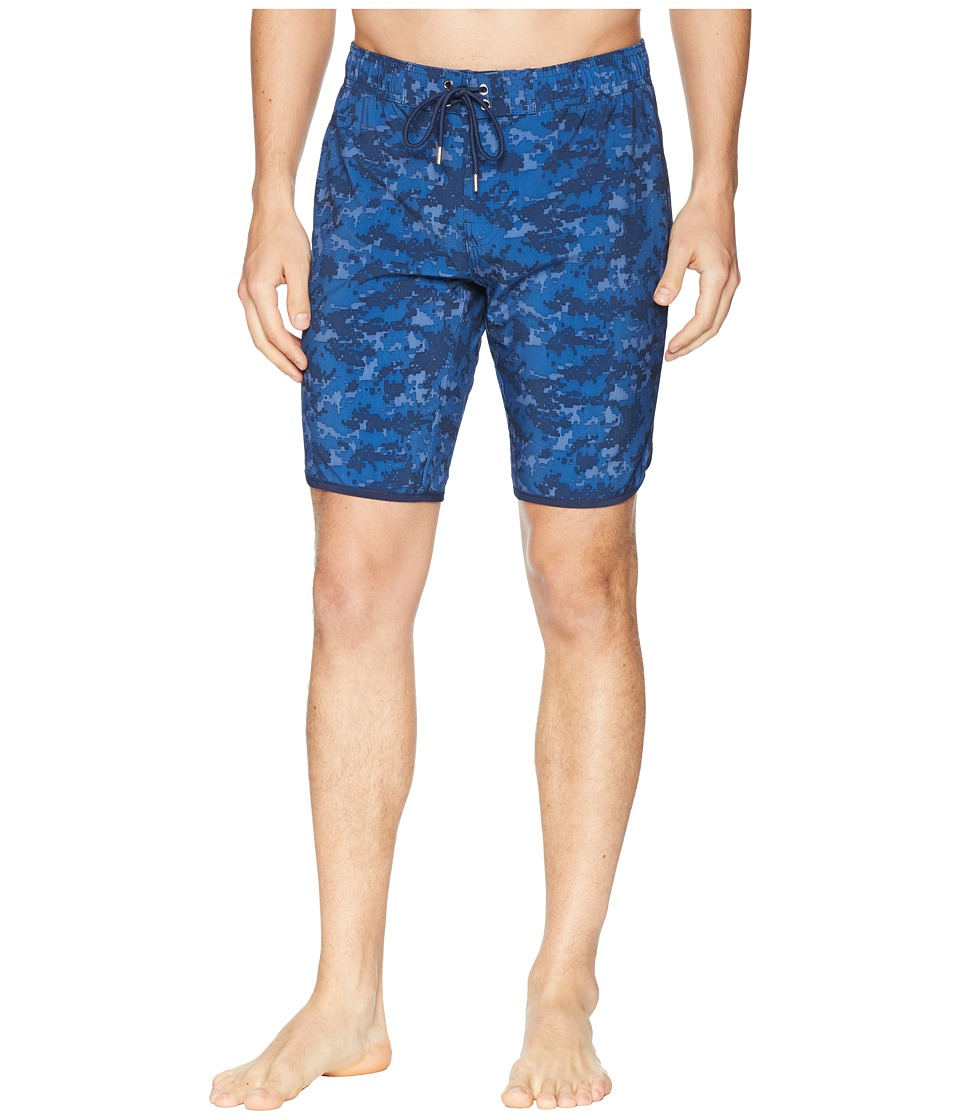 2(X)IST - Jogger Slim Boardshorts (Digi Camo/Dress Blue) Mens Swimwear