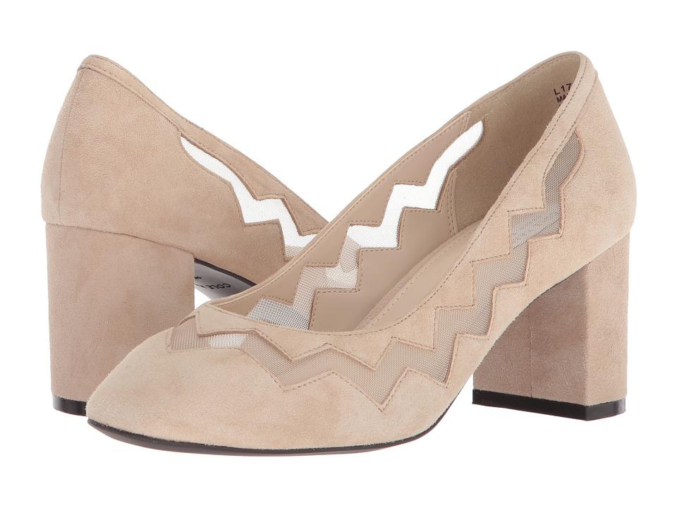 Cole Haan Emilia Pump (Nude Suede) Women's Shoes