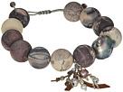 Chan Luu Chan Luu Matte Porcelain Jasper Pull Tie Bracelet