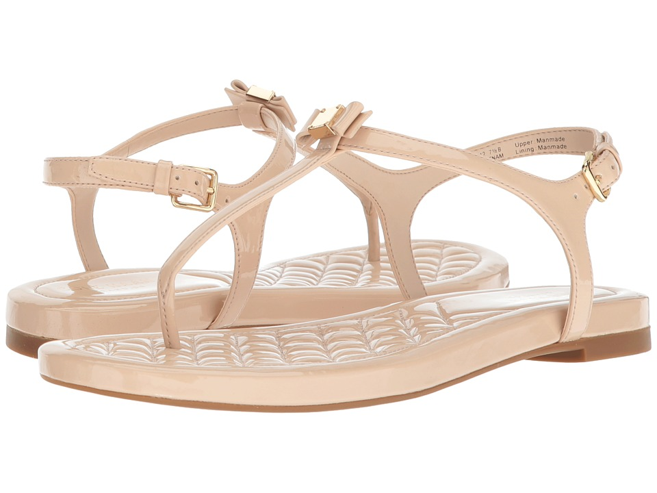 Cole Haan Tali Mini Bow Sandal (Nude Patent) Sandals