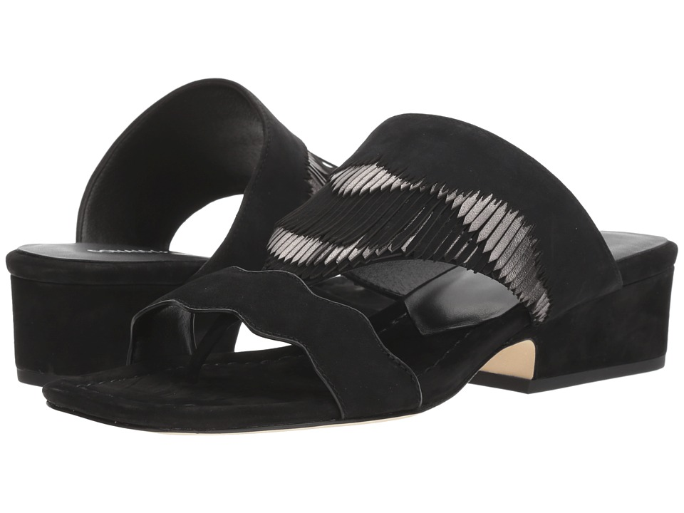 Donald J Pliner Darcie (Black) Slip-On Shoes