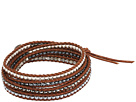 Chan Luu 32 Five Wrap Bracelet with Multicolored Nuggets