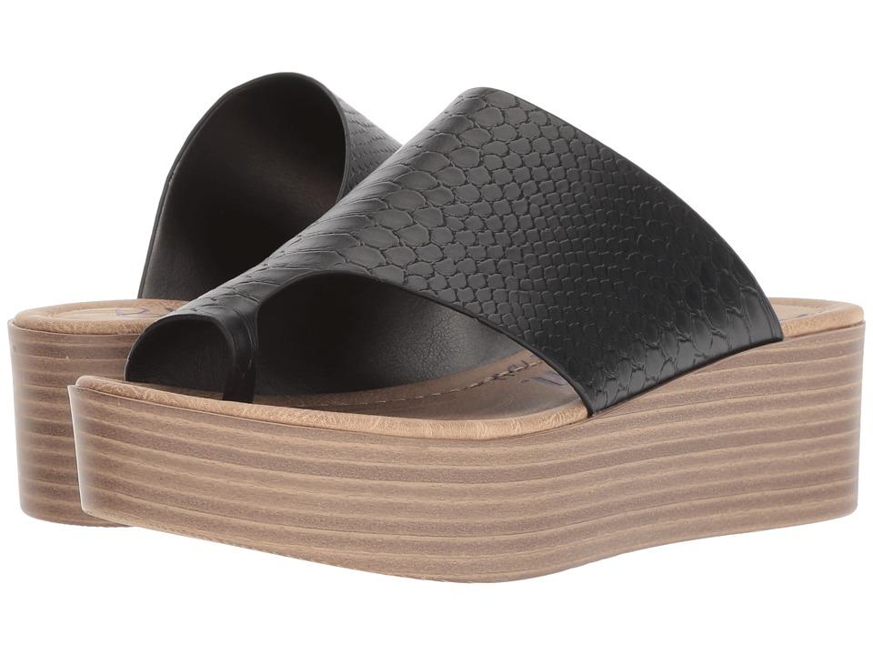 Blowfish Laslett (Black Snake Charmer) Sandals