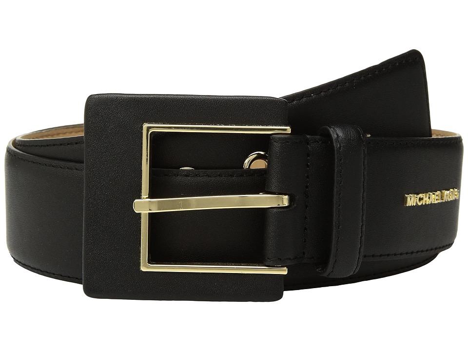 MICHAEL Michael Kors Hip Station Belt (Black) Women