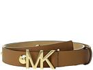 MICHAEL Michael Kors Leather Belt w/ Dome Studs