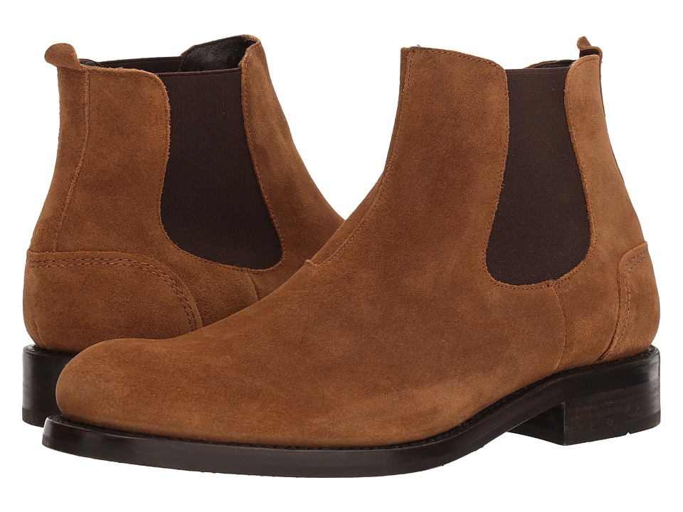 Wolverine - 1000 Mile Montague Chelsea Boot (Medium Beige) Mens Pull-on Boots