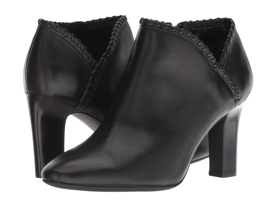 LAUREN Ralph Lauren Bryna (Black/Black Super Soft Leather)