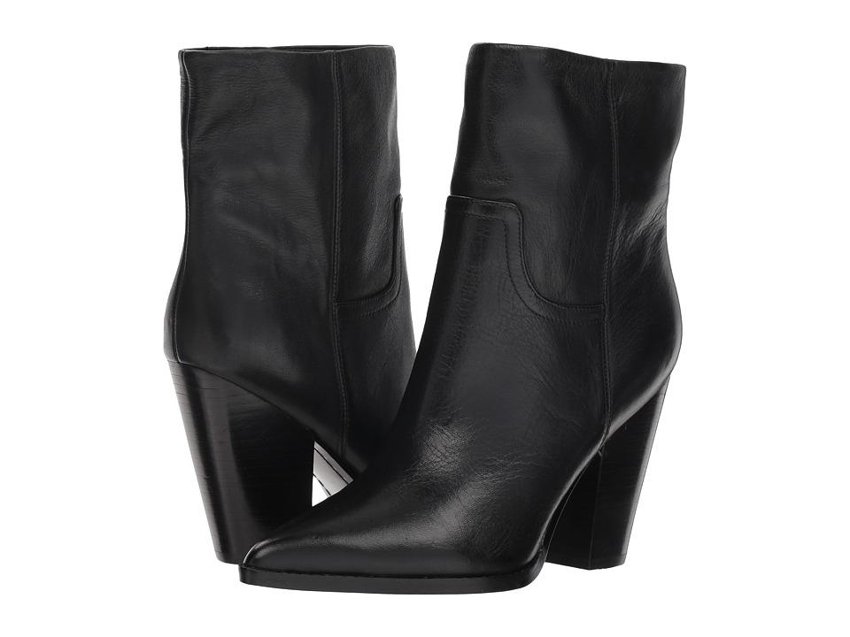 Marc Fisher LTD Devin (Black Leather) Women's Shoes
