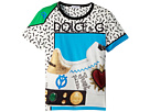 Dolce & Gabbana Kids Scarpe Print T-Shirt (Toddler/Little Kids)