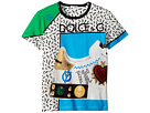 Dolce & Gabbana Kids Scarpe Print T-Shirt (Big Kids)