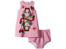 Dolce & Gabbana Kids Queen of Hearts Dress (Infant)