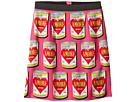 Dolce & Gabbana Kids Charmeuse Love Skirt (Big Kids)