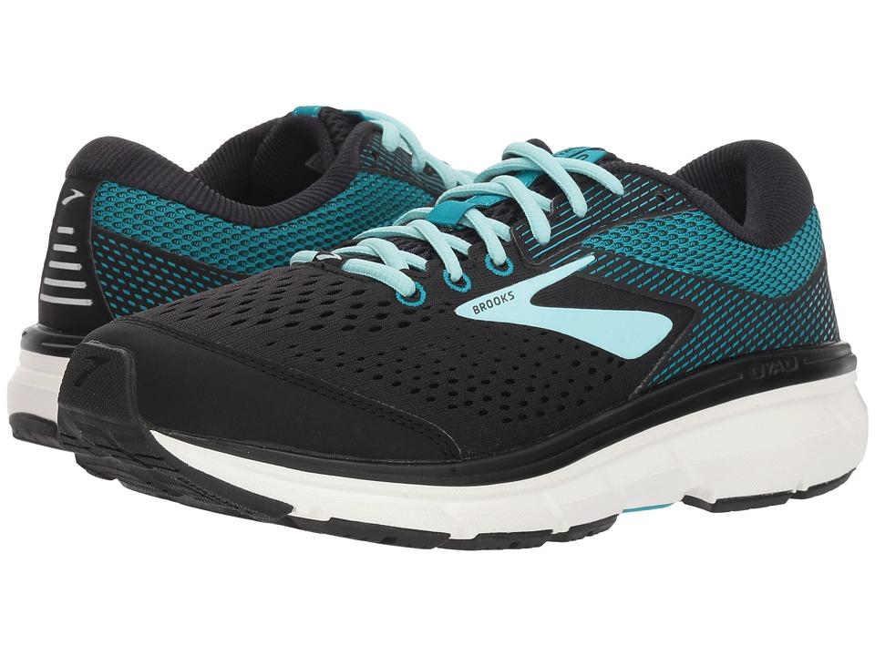 Brooks Dyad 10 (Black/Island/Capri) Women's Running Shoes