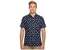 Perry Ellis Short Sleeve Cluttered Rose Shirt