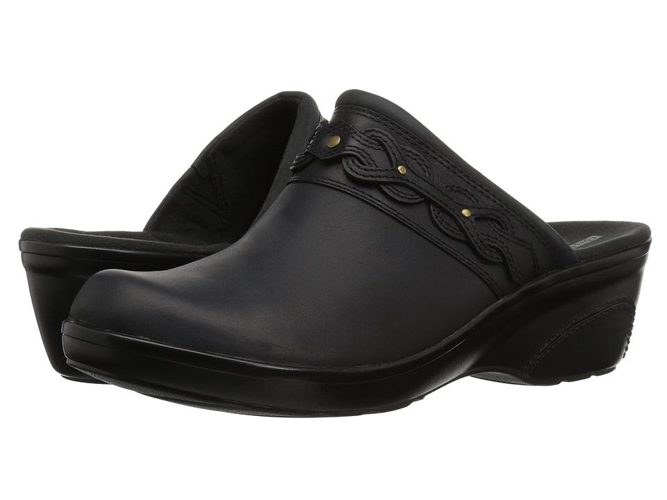 Clarks Marion Coreen (Black Leather) Women's Shoes