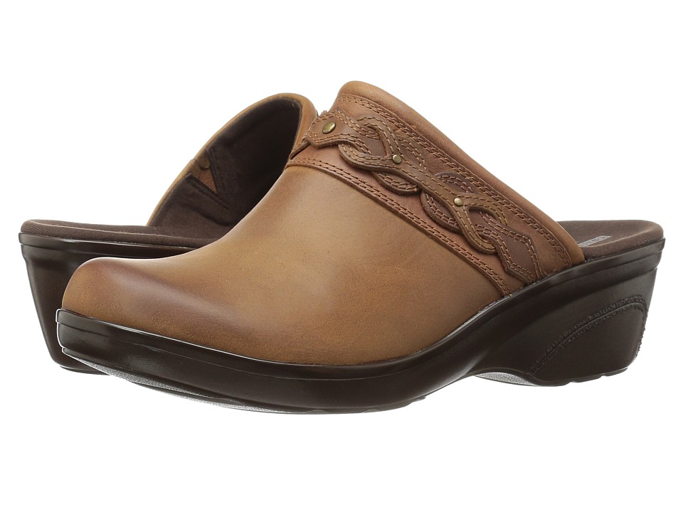 Clarks Marion Coreen (Dark Tan Leather) Women's Shoes