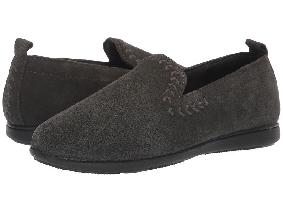 Minnetonka Shay (Charcoal) Slippers