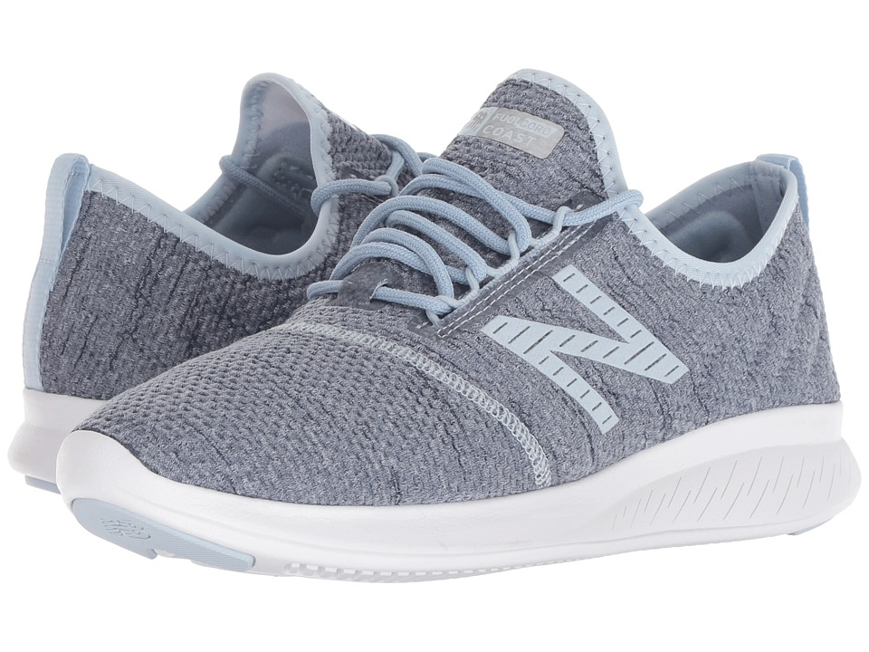 New Balance Coast v4 (Petrol/Galaxy) Women's Running Shoes