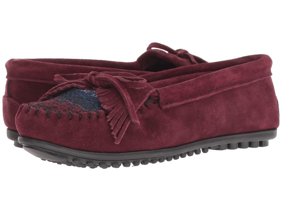 Minnetonka Cordova Kilty (Burgundy) Slippers