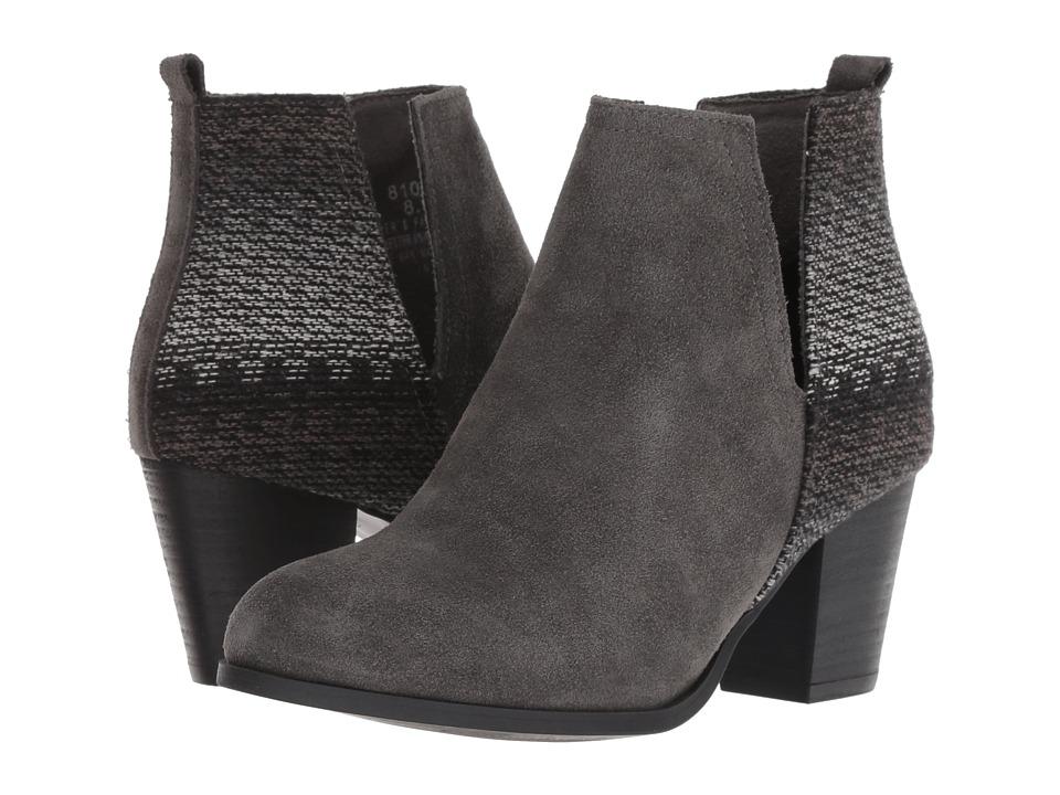 Minnetonka Mari (Charcoal) 1-2 inch heel Shoes