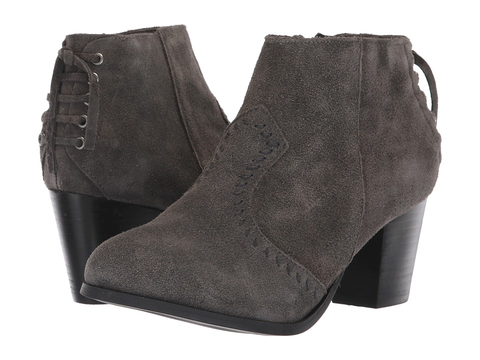 Minnetonka Melissa (Charcoal) 1-2 inch heel Shoes