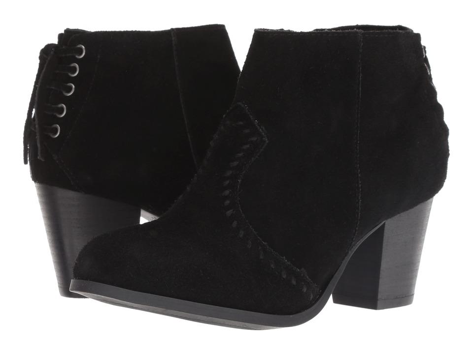 Minnetonka Melissa (Black) 1-2 inch heel Shoes