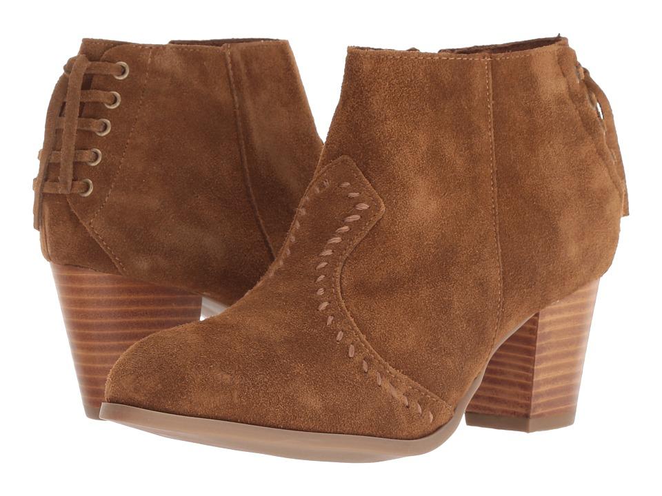 Minnetonka Melissa (Dusty Brown) 1-2 inch heel Shoes