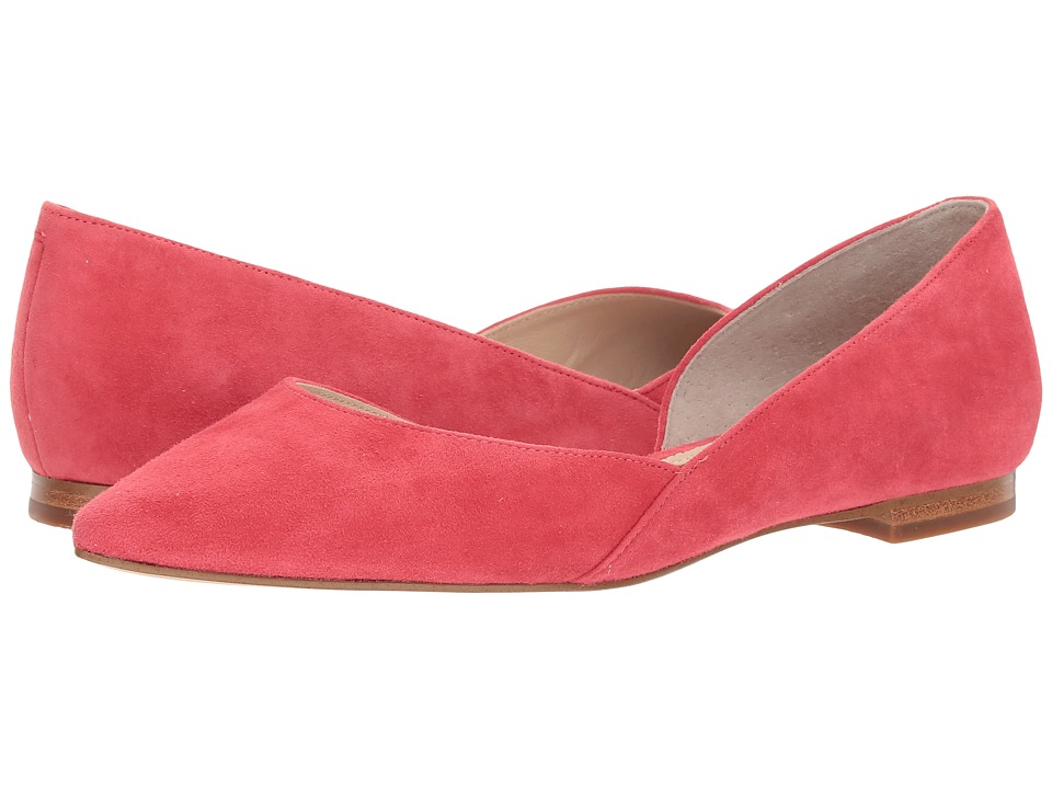 Marc Fisher LTD Sunny d'Orsay Flat (Fire/Kid Suede) Sandals
