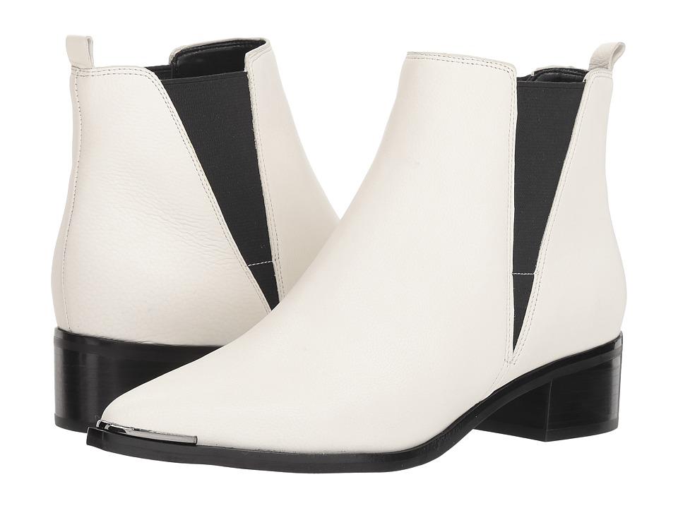 Marc Fisher LTD Yale (Chic Cream/Black) Women's Dress Pull-on Boots