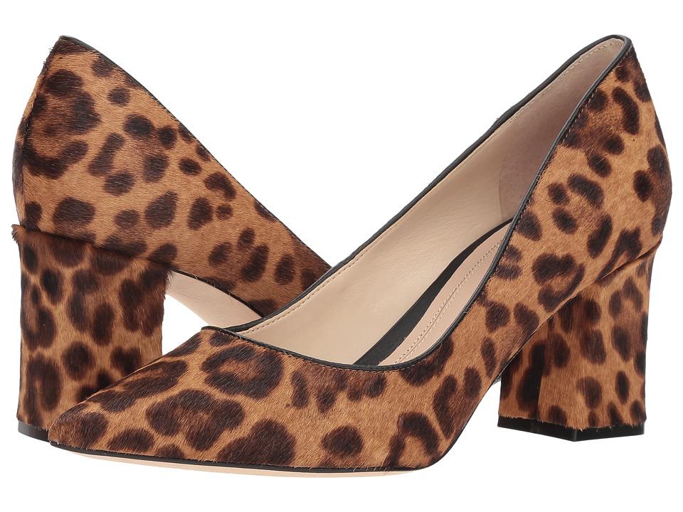 Marc Fisher LTD Zalaly (Light Camel Multi/Black/Fume Leop) Women's Shoes