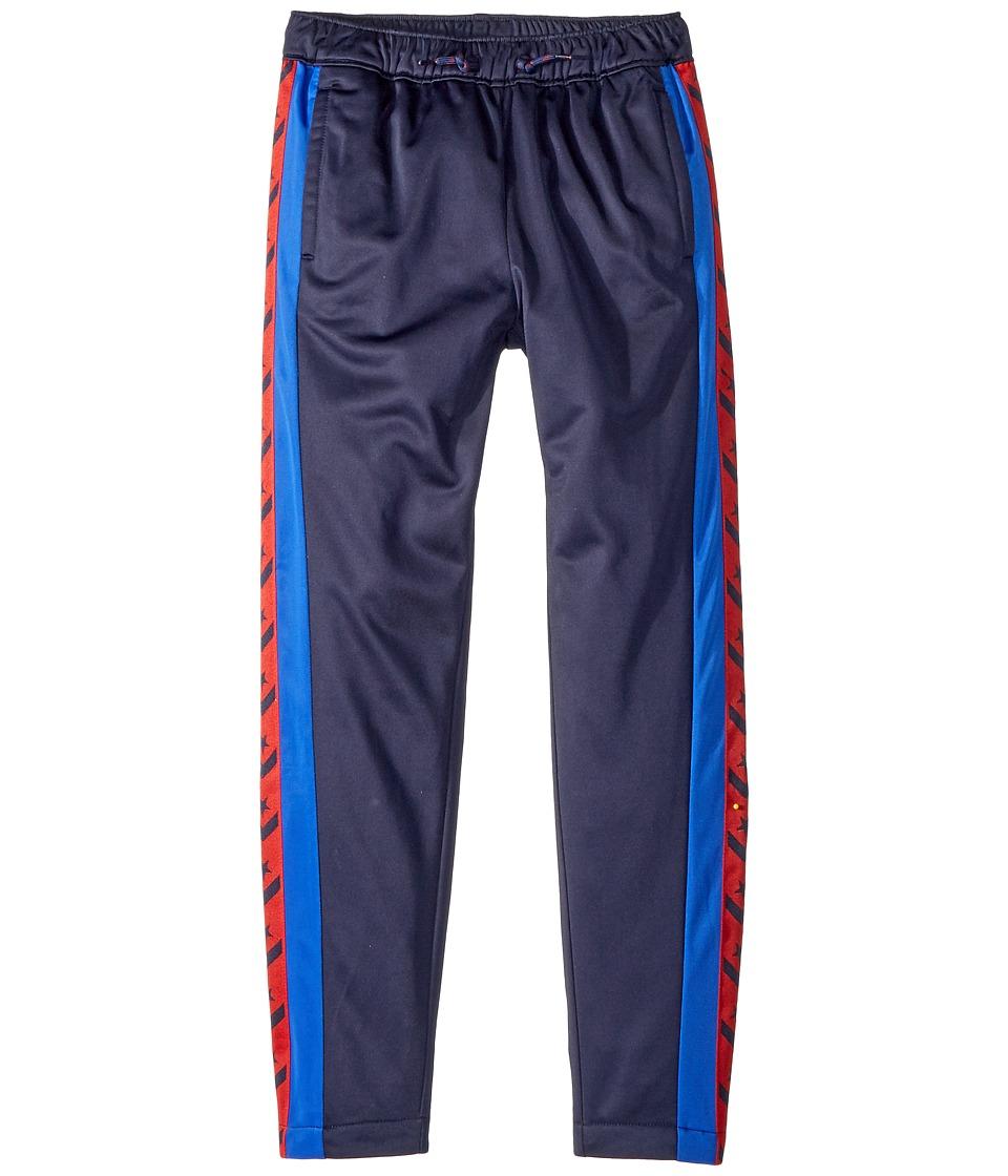 Converse Kids - Heritage Warmup Pants (Big Kids) (Obsidian) Boys Casual Pants
