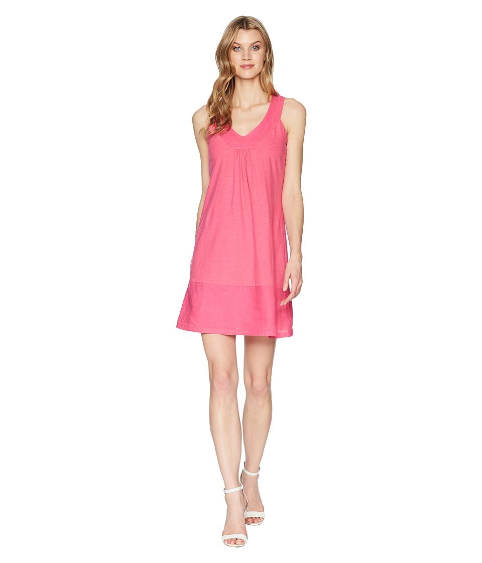 Tommy Bahama Arden Sleeveless Flounce Dress (Bright Blush) Women
