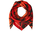 Vince Camuto Dipped Roses Square Scarf