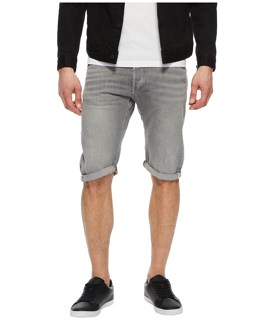 G-Star - Arc 3D 1/2 Shorts in Racha Grey Denim (Racha Grey Denim) Mens Shorts