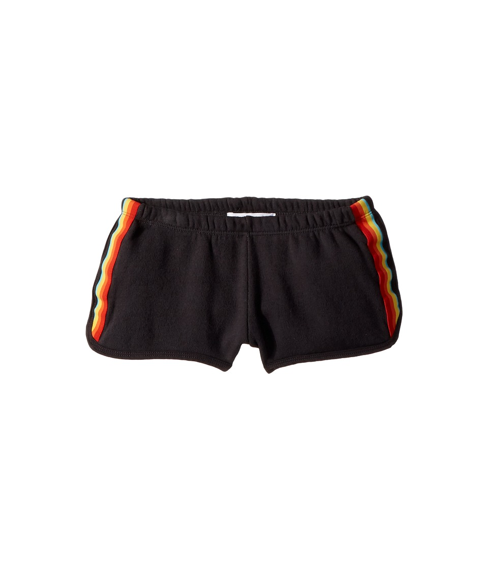 Spiritual Gangster Kids - Rainbow Shorts (Toddler/Little Kids/Big Kids) (Vintage Black) Girls Shorts
