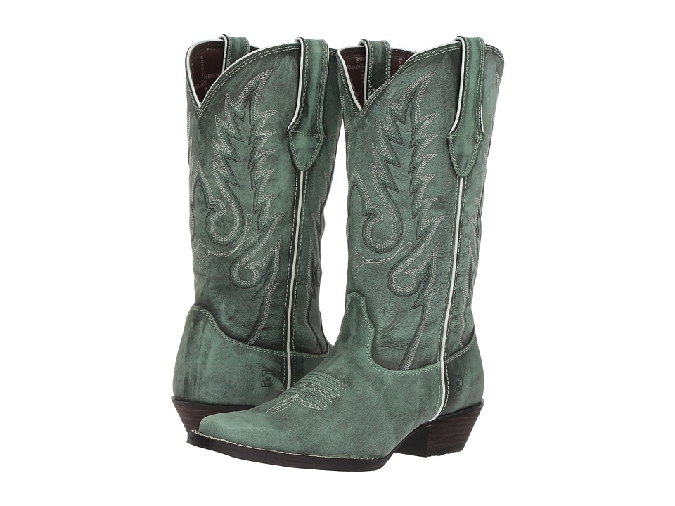 Durango Dream Catcher 12 Fancy Stitch (Gypsy Teal) Women's Cowboy Boots
