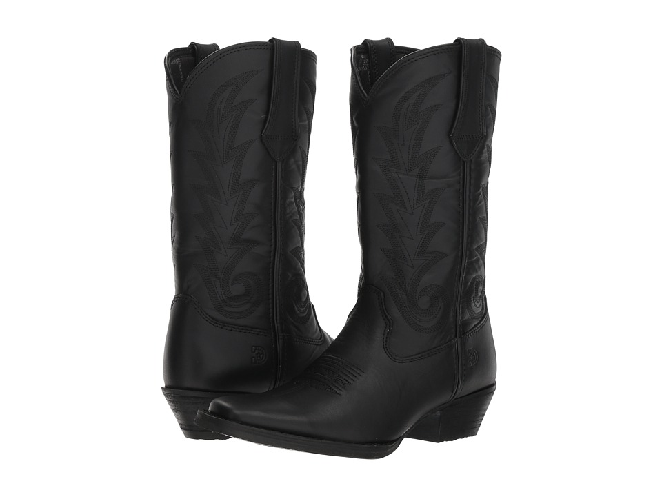 Durango Western 11 Narrow Square Toe (Black Beauty) Women's Cowboy Boots
