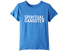 Spiritual Gangster Kids SG Varsity Short Sleeve Tee (Toddler/Little Kids/Big Kids)