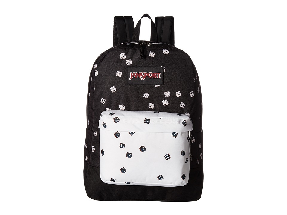JanSport - Black Label SuperBreak(r) (Roll of the Dice) Backpack Bags