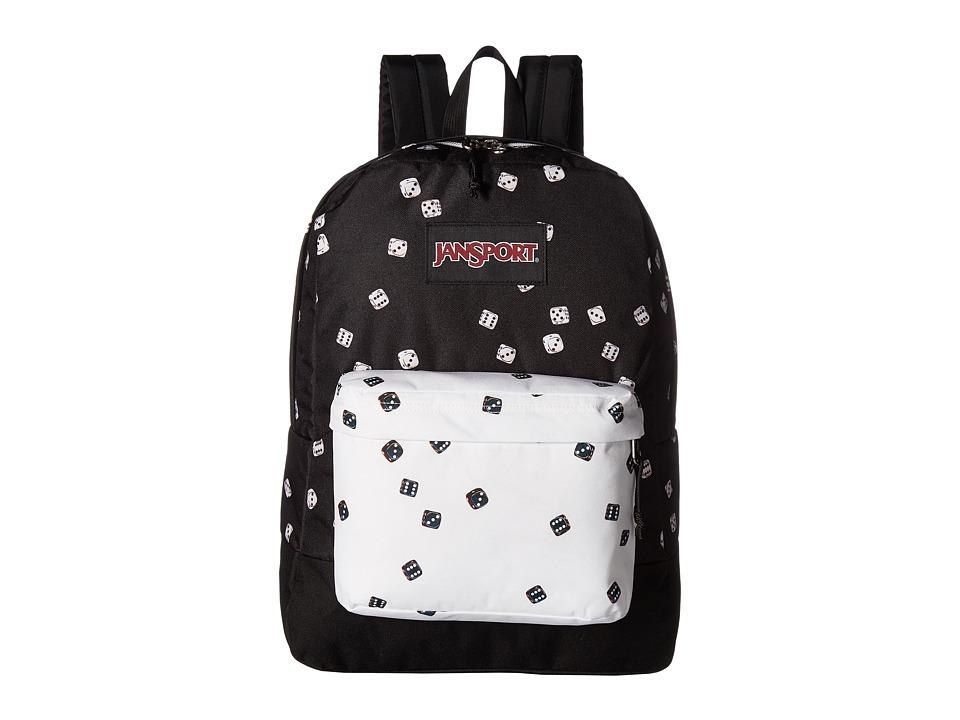 JanSport - Black Label SuperBreak(r) (Roll of the Dice) Backpack Bags