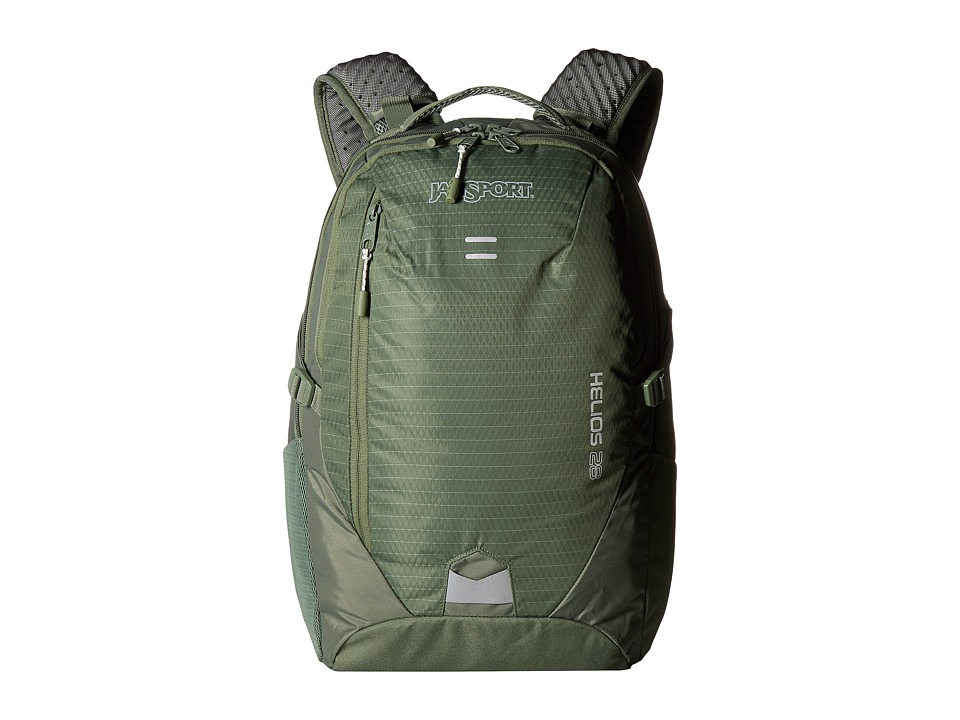 JanSport - Helios 28 (Muted Green) Backpack Bags
