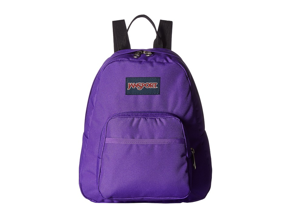 JanSport - Half Pint (Signature Purpe) Backpack Bags
