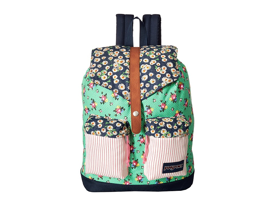 JanSport - Madalyn (Ditzy Patchwork) Backpack Bags