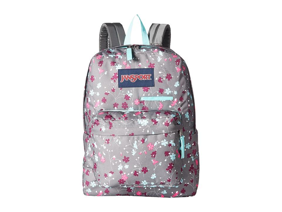 JanSport - Digibreak (Spring Meadow) Backpack Bags