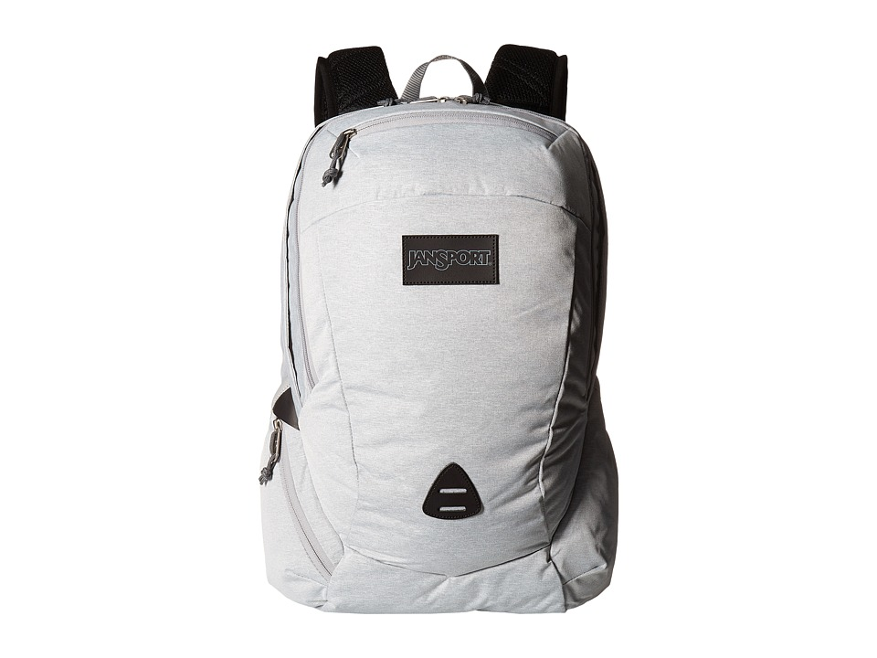 JanSport - Wynwood (Grey Heathered Poly) Backpack Bags