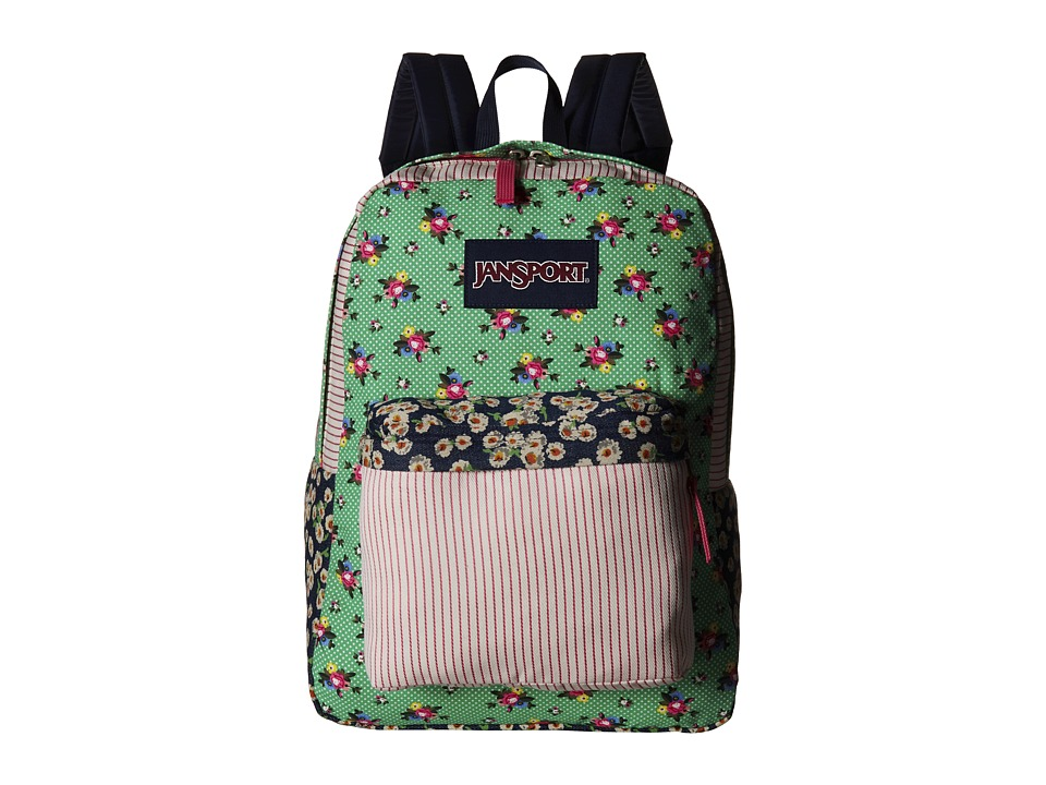 JanSport - High Stakes (Ditzy Patchwork) Backpack Bags