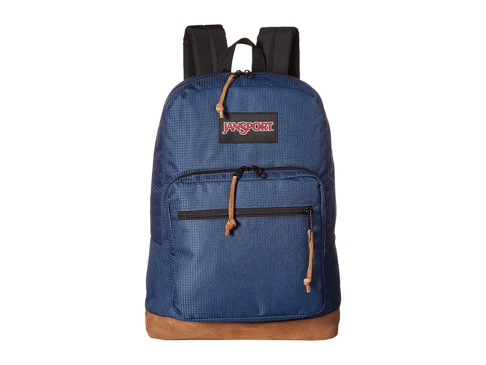 JanSport - Right Pack DE (Navy Stitch Dobby) Backpack Bags