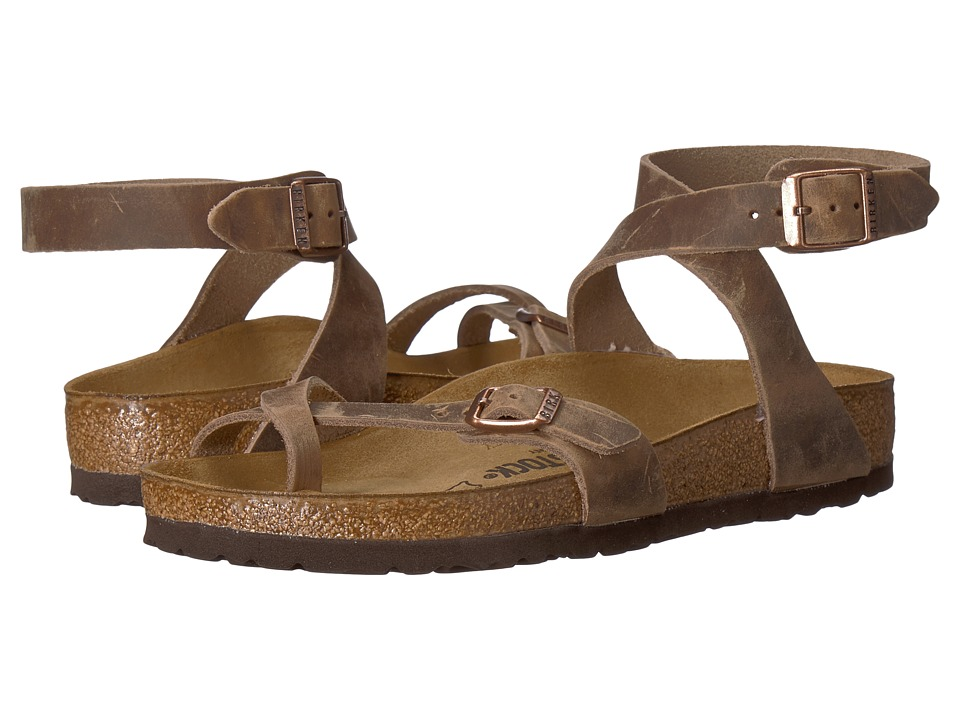 Birkenstock - Yara (Tobacco) Womens Sandals