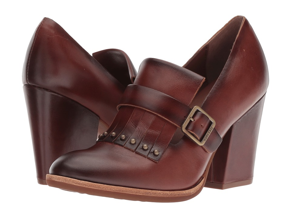 Kork-Ease Prim (Brown Full Grain) High Heels