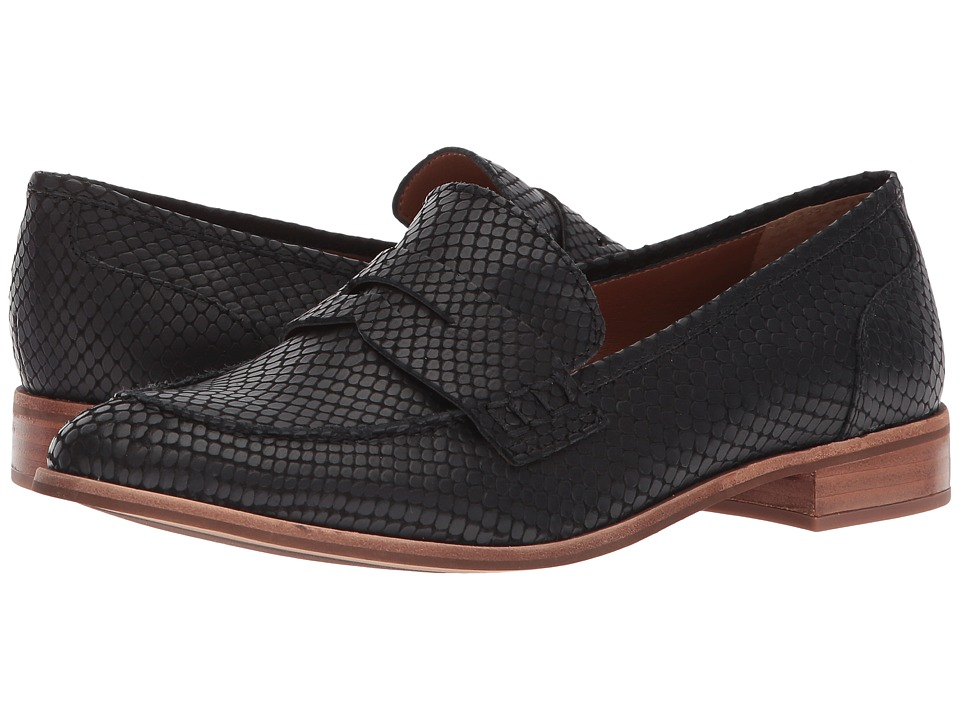 Franco Sarto - Jolette by SARTO (Black Snake) Womens Slip on  Shoes